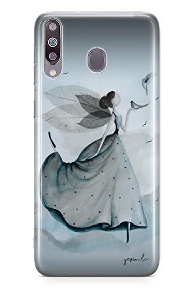 Lopard Samsung Galaxy M30 Kılıf Uçur Sevgini Kapak Renkli